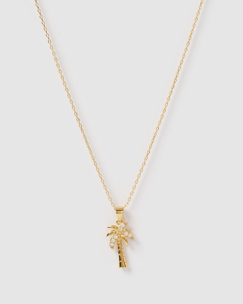 Izoa Lilo Necklace Gold