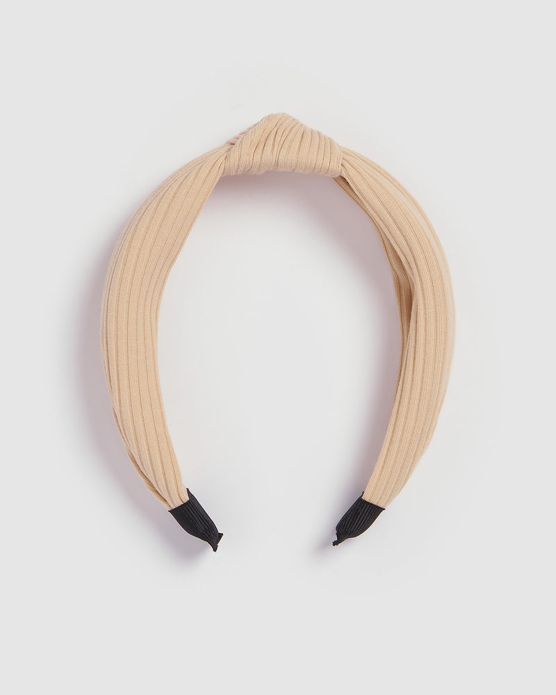 Izoa Manhattan Headband Cream