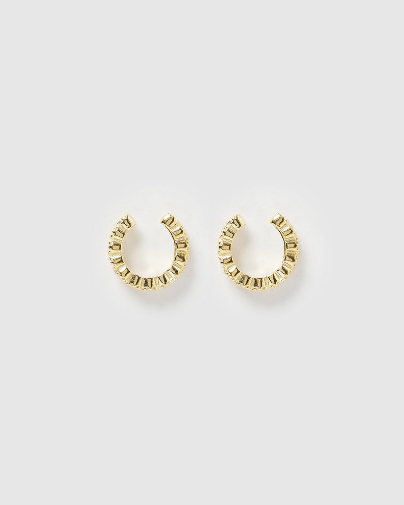 Izoa Marley Ear Cuff Gold