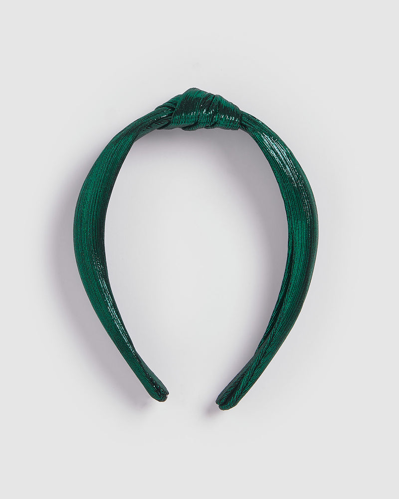 Izoa New York Headband Emerald
