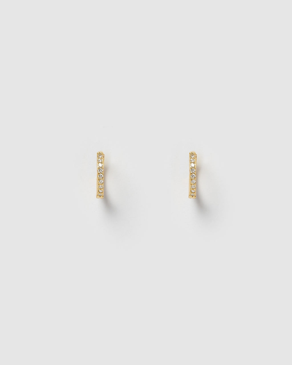 ** PRE ORDER** Izoa Remi Huggie Earrings Gold