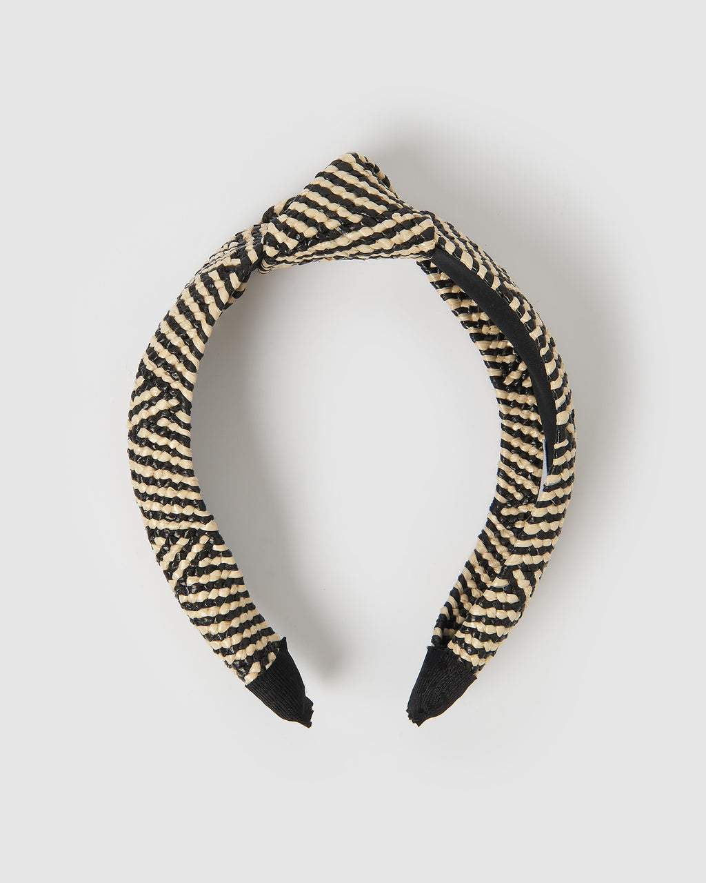 Izoa Sandy Headband Black & White