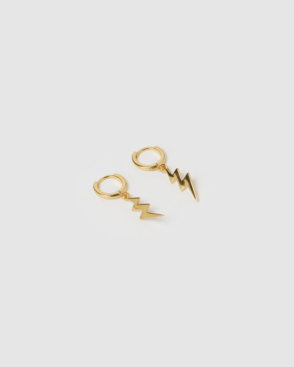 Izoa Stormi Huggie Earrings Gold