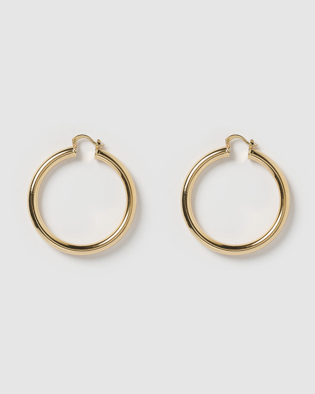 **PRE ORDER**  Izoa Teddy Hoop Earrings Gold