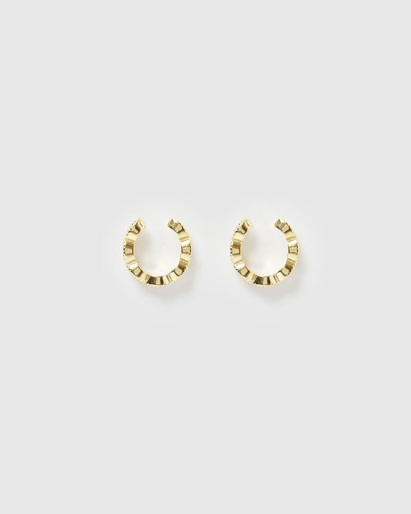Izoa Vivid Ear Cuff Gold
