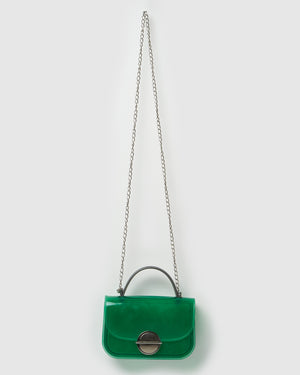Izoa Joan Jelly Crossbody Bag Green