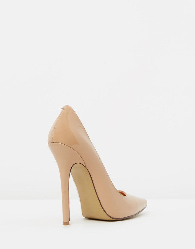 Izoa Khloe Heels Fawn Patent [SIZES 39 & 41 ONLY]