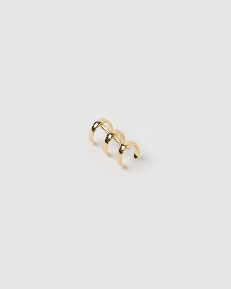 Izoa Kyda Ear Cuff Gold
