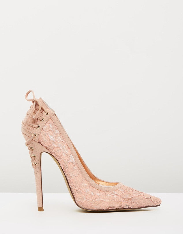 Izoa Ladylike Heels Blush (SIZE 39 ONLY)