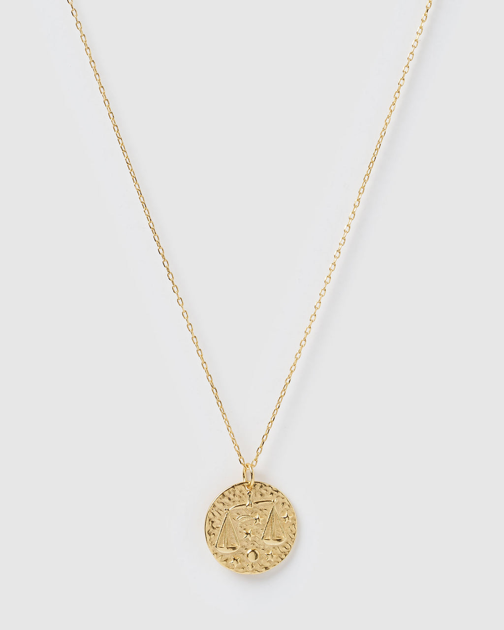 Izoa Star Sign Necklace Libra Gold
