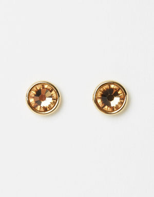 Izoa Little Stud Earrings Gold