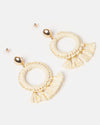 Izoa Luisa Earrings Natural