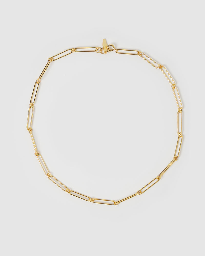 Izoa Leo Chain Necklace Gold