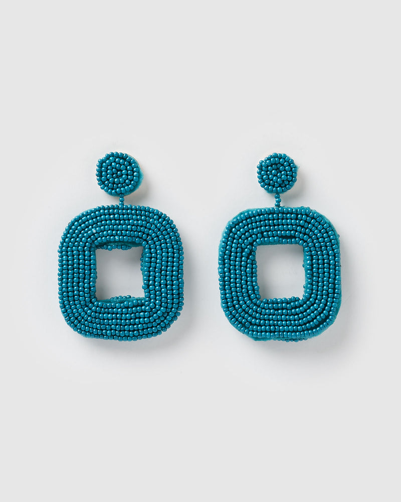 Izoa Mae Earrings Teal