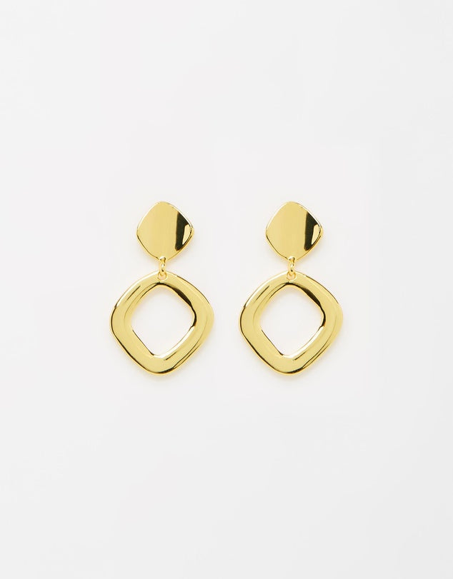 Izoa Mercury Earrings Gold