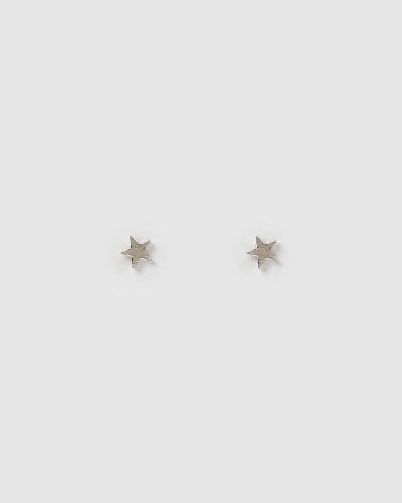 Izoa Kids Starstruck Stud Earrings Sterling Silver