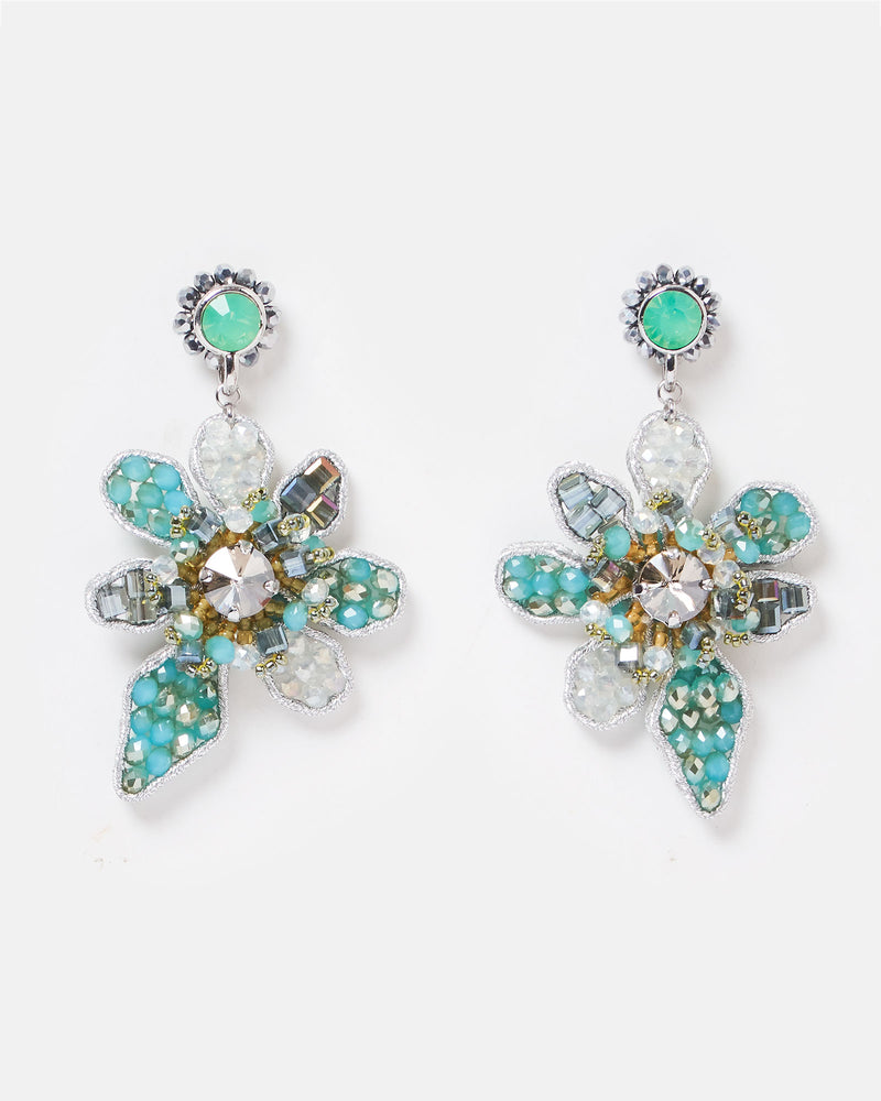 Izoa Paradiso Earrings Blue