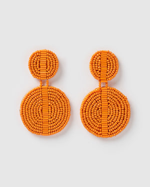 Izoa Phoebe Earrings Orange