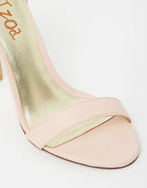 Izoa Positano Heels Nude (SIZES 37 & 41 ONLY)