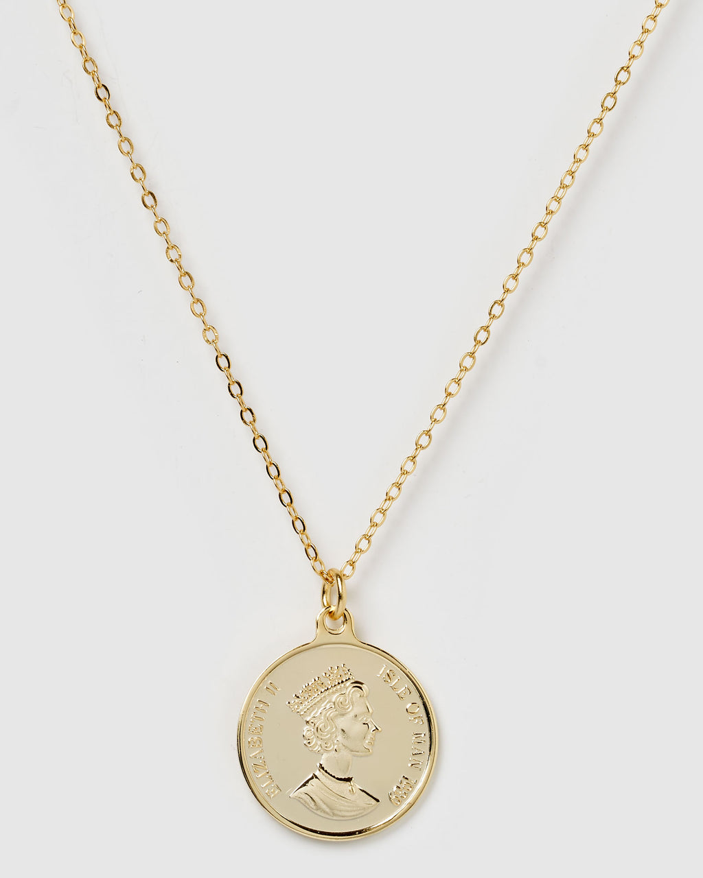 Izoa Riches Pendant Necklace Gold
