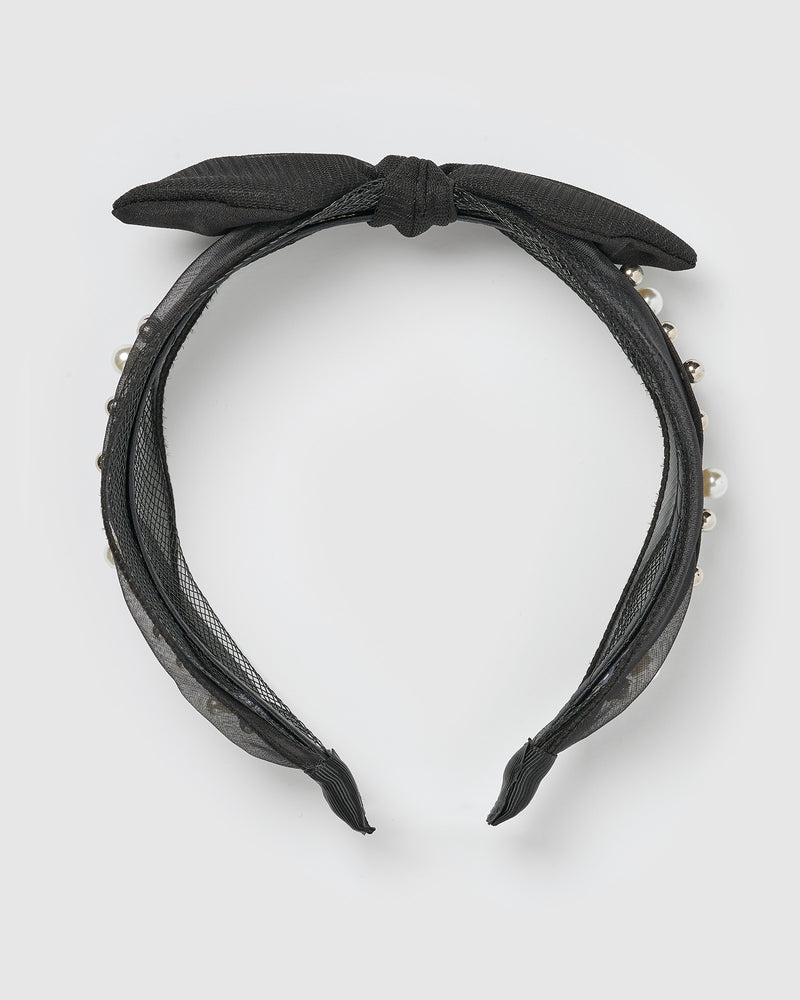 Izoa Rana Headband Black