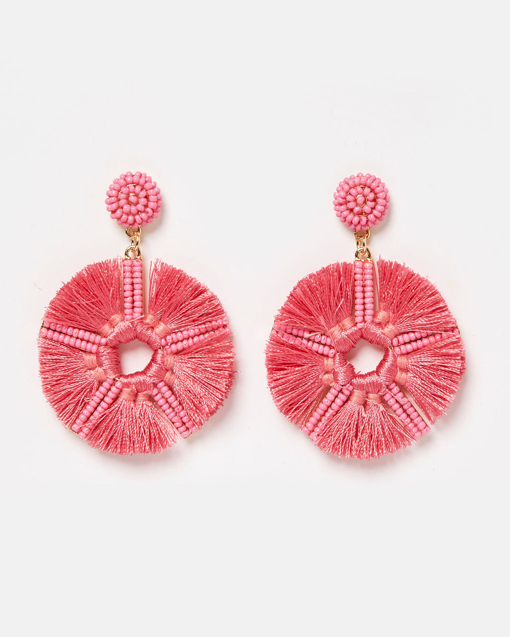 Izoa Salsa Earrings Pink