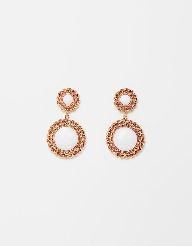 Izoa Set Sail Earrings Rose Gold