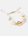 Miz Casa & Co Shell Collector Bracelet Shell Gold