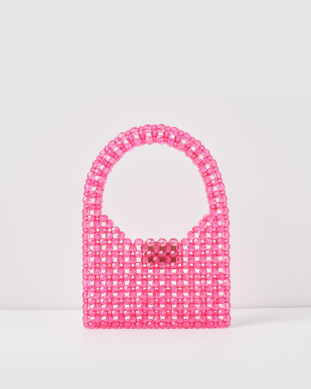 Izoa Kids Sia Beaded Handbag Pink