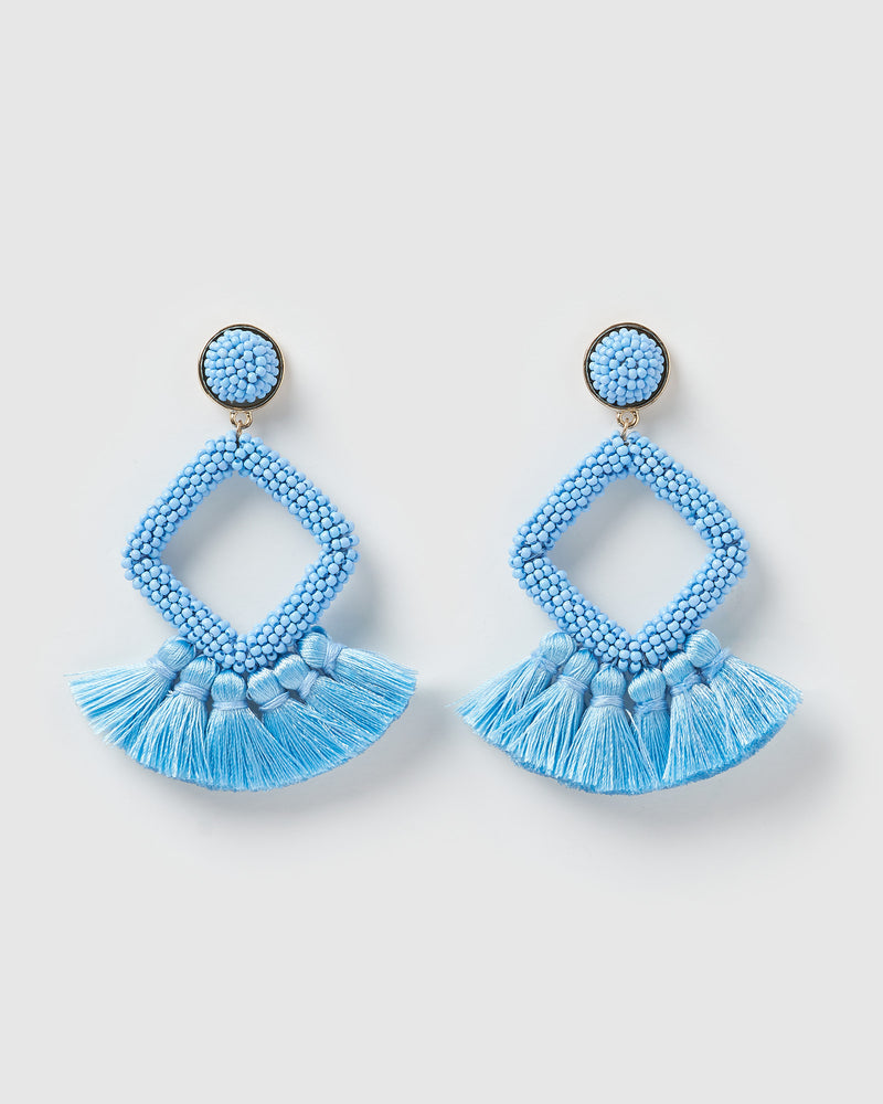 Izoa Soul Earrings Blue