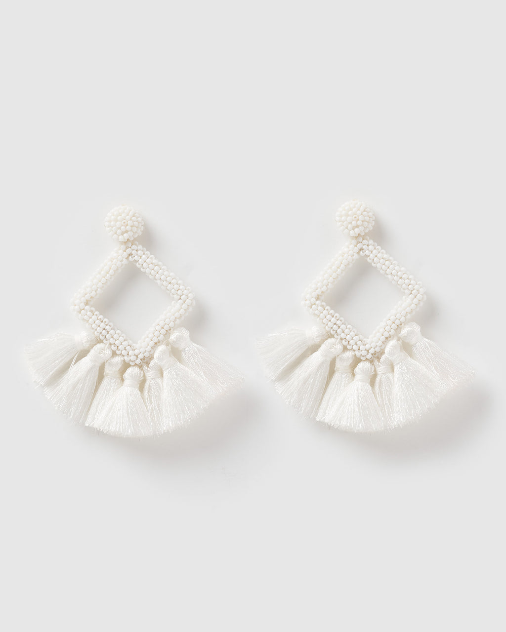 Izoa Soul Earrings White
