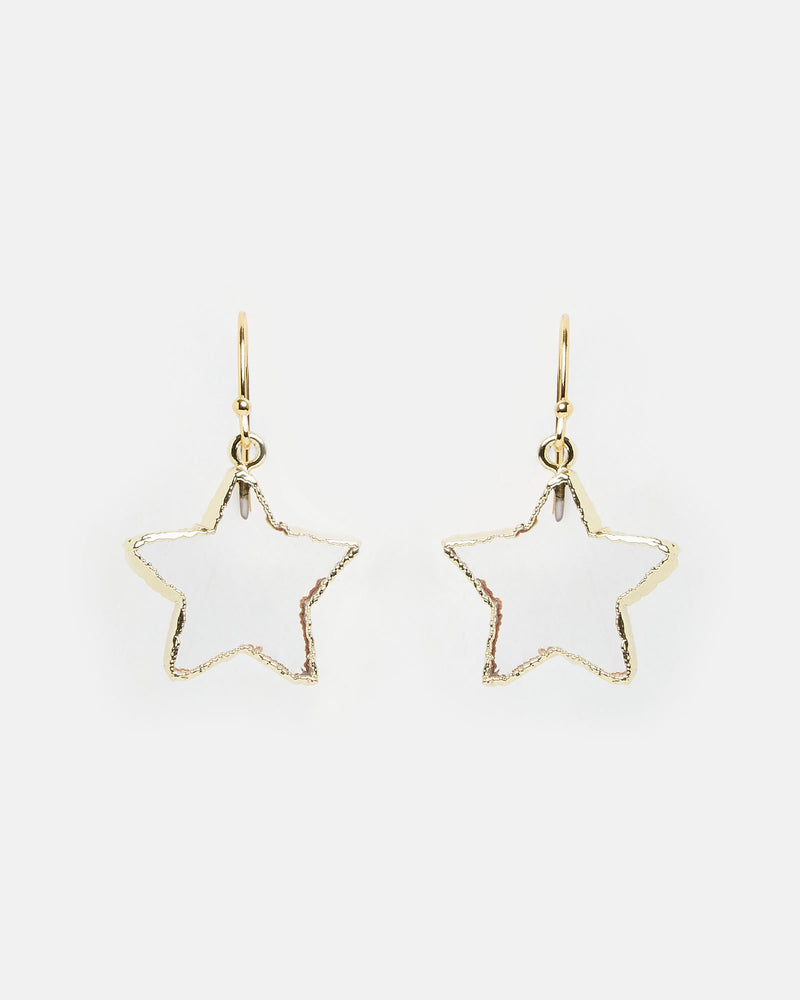 Miz Casa & Co Starfish Earrings Gold