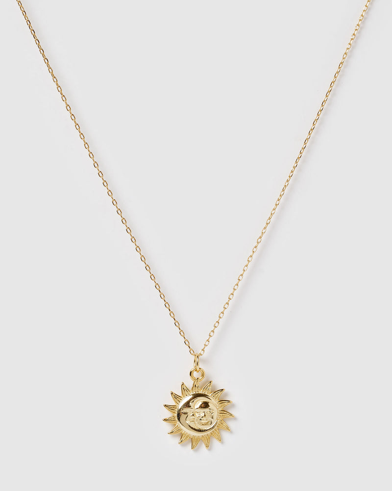 Izoa Sunshine Necklace Gold