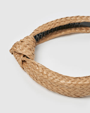 Izoa Sandy Headband Natural
