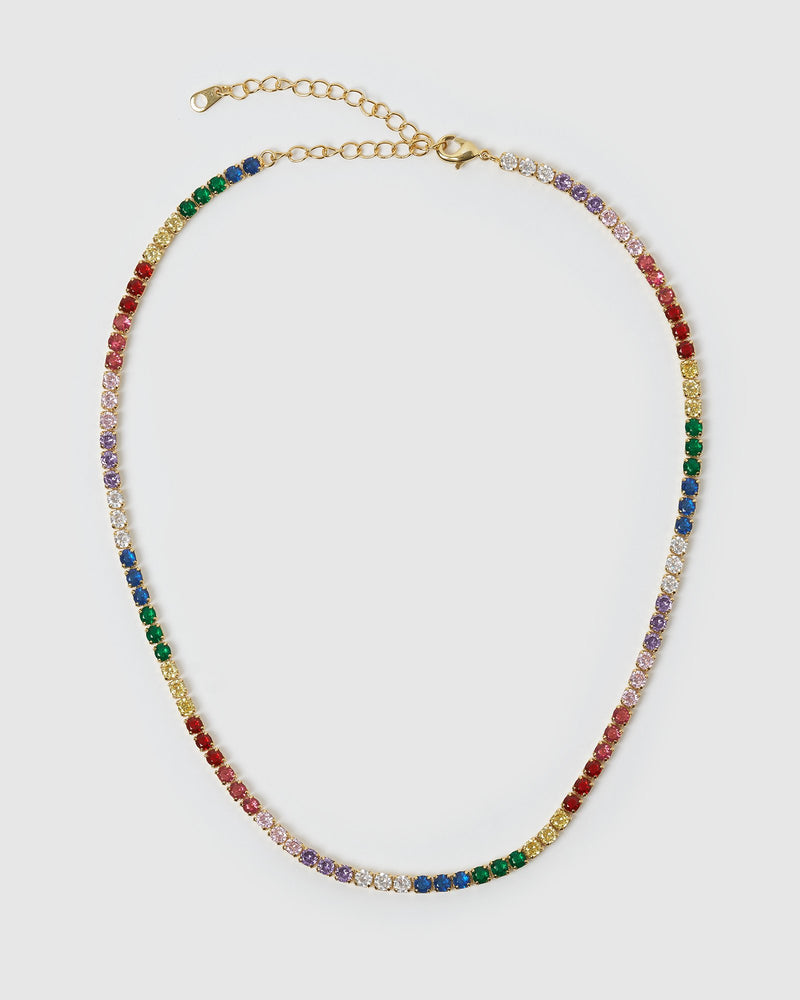 Izoa Serena Necklace Gold Multi