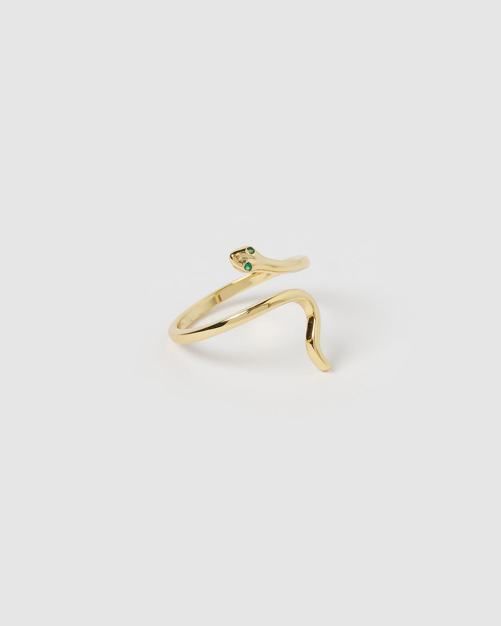 Izoa Serpent Ring Gold
