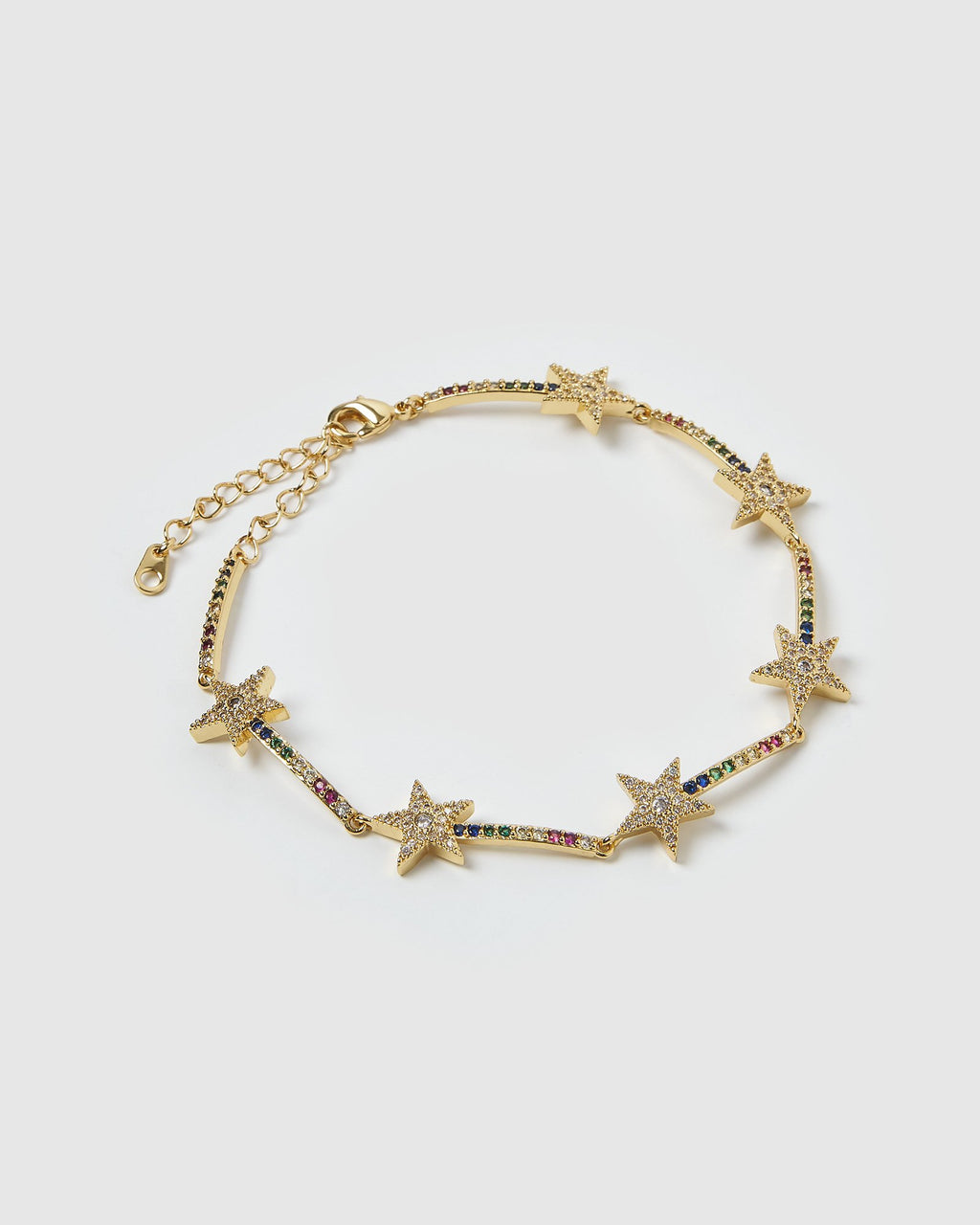 Izoa Star Bright Bracelet Gold