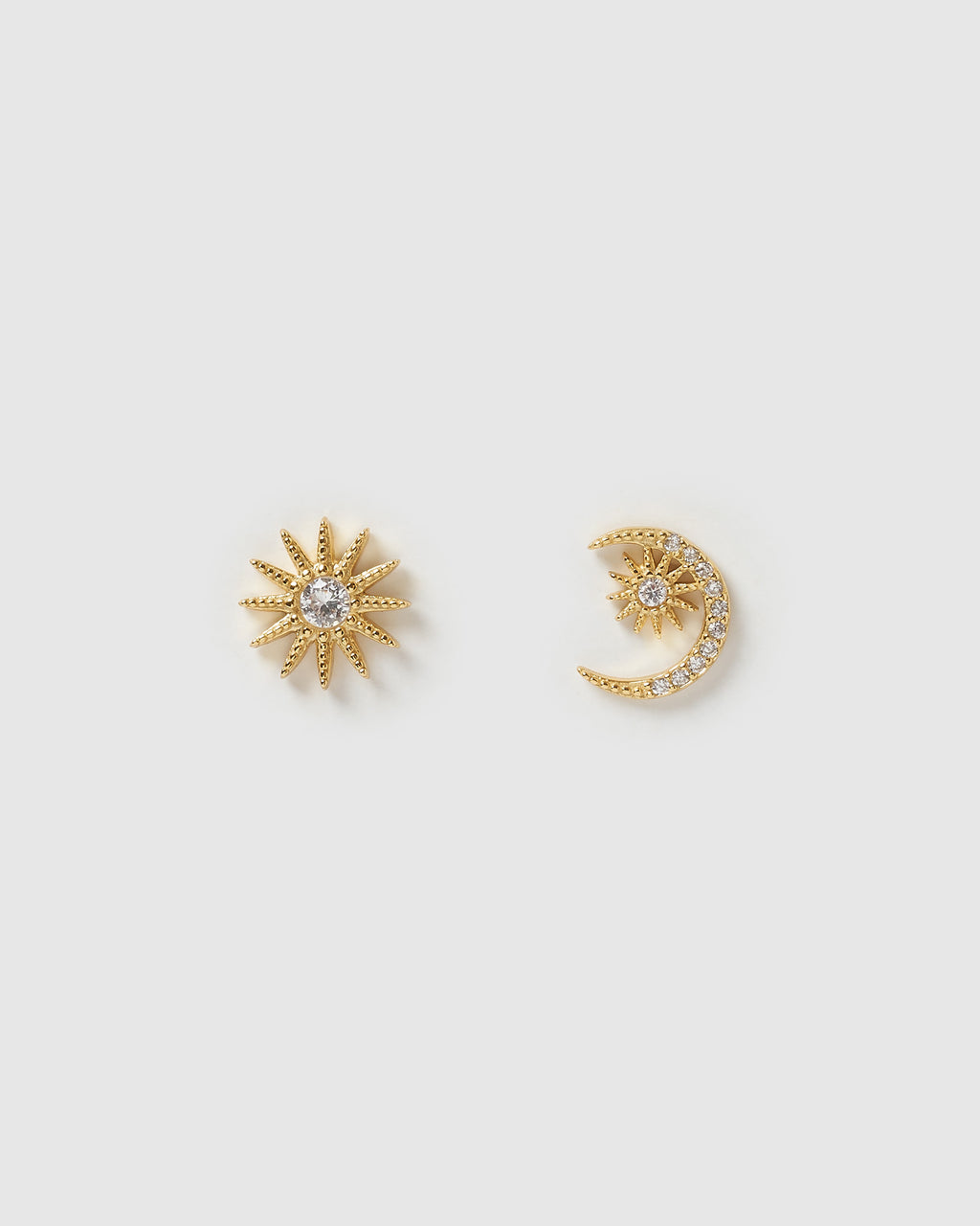 Izoa Stellar Earrings Gold