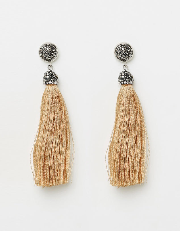 Izoa Tapestry Earrings Caramel