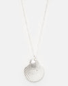 Miz Casa & Co Thalasso Shell Necklace Silver