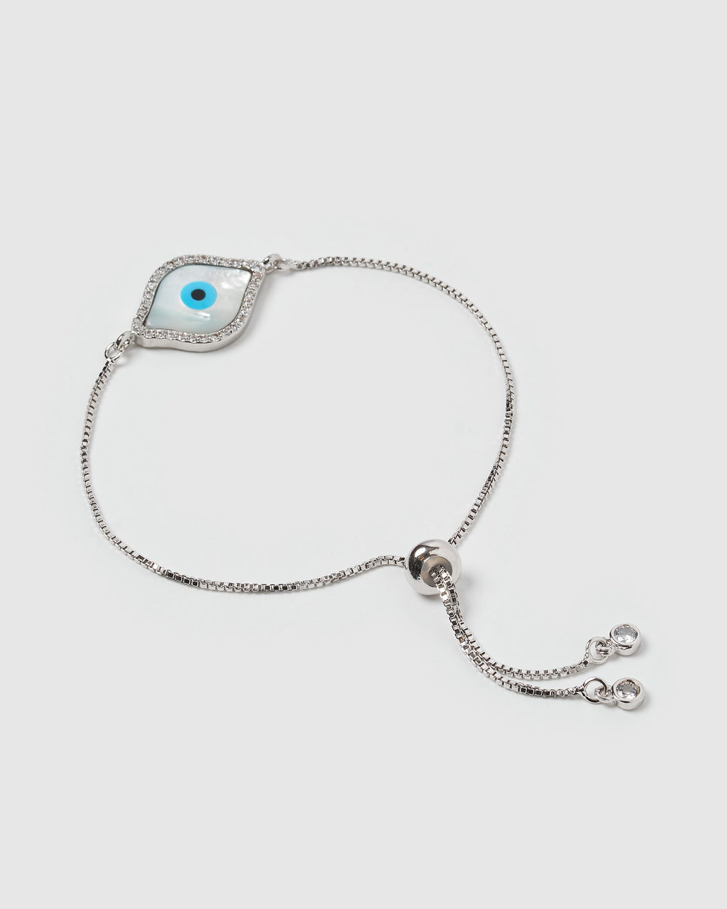 Miz Casa & Co Time Keeper Bracelet Silver Pearl