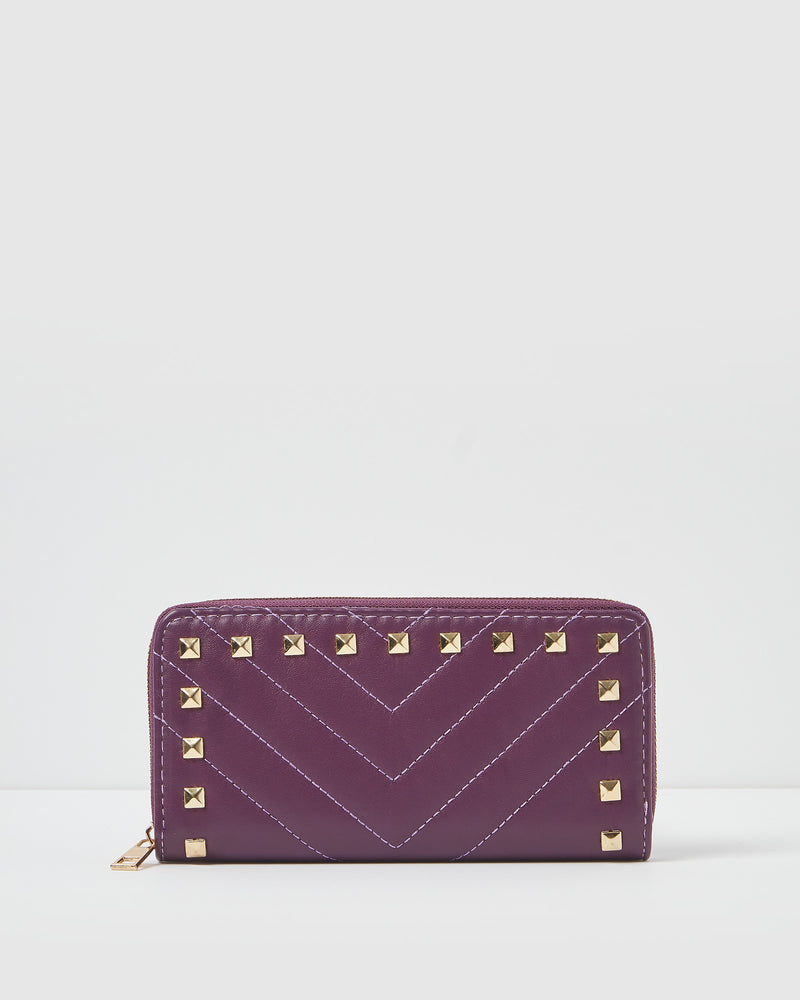 Izoa Tori Wallet Purple
