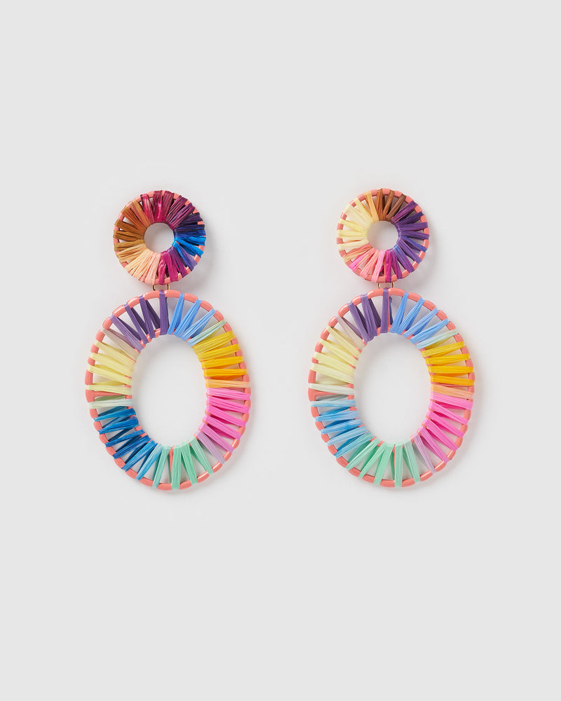 Izoa True Spirit Earrings Multi