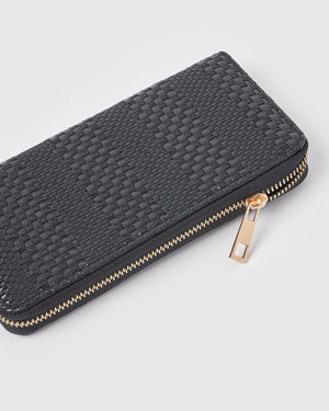 Izoa Tara Wallet Black