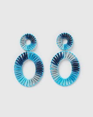 Izoa True Spirit Earrings Blue
