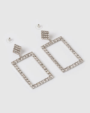 Izoa Ultra Earrings Silver