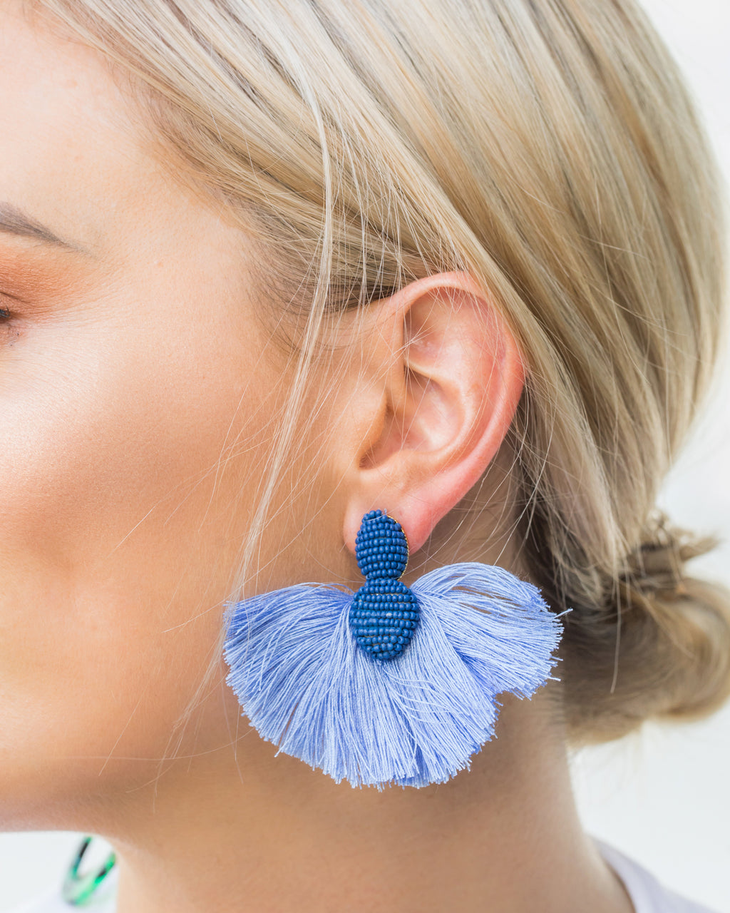 Izoa Underwater Earrings Blue