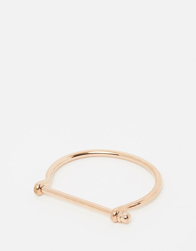 Izoa Unhinged Bracelet Rose Gold