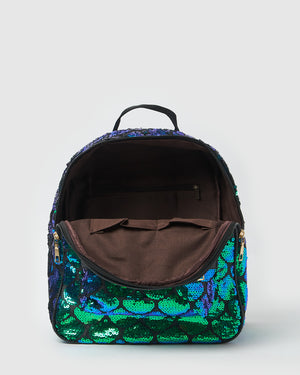 Izoa Kids Under The Sea Backpack Black Green