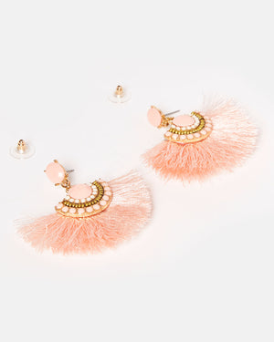 Izoa Valentina Earrings Pink